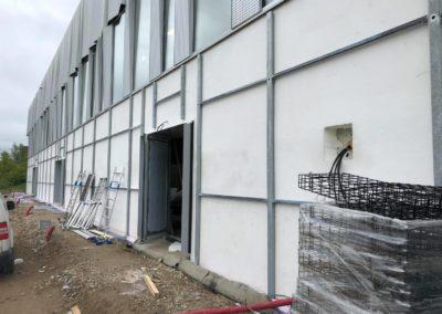 Mur végétal extérieur - structure metal