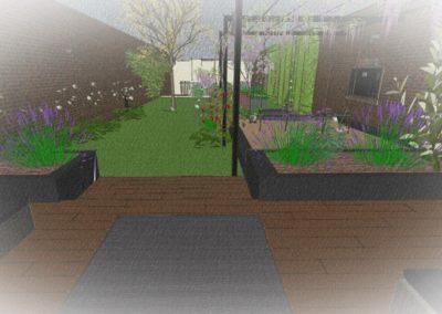 3D Aménagement extérieur-Jardin