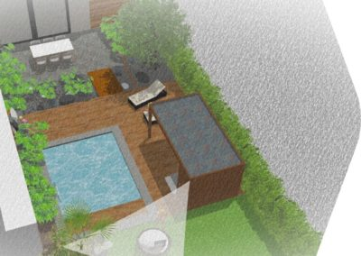 Coming soon . Terrasse composite . Piscine . Jungle
